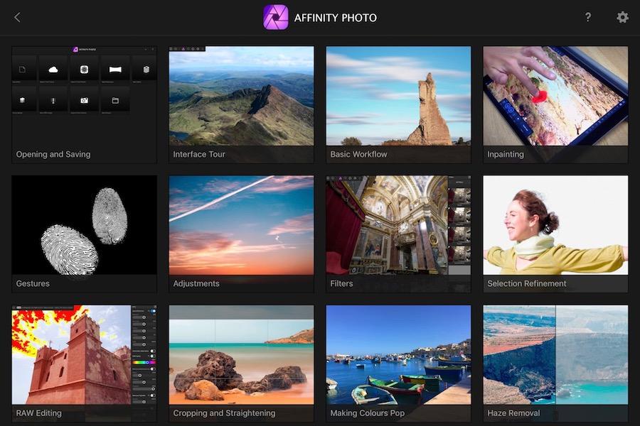 1 affinity photo tutorials klein