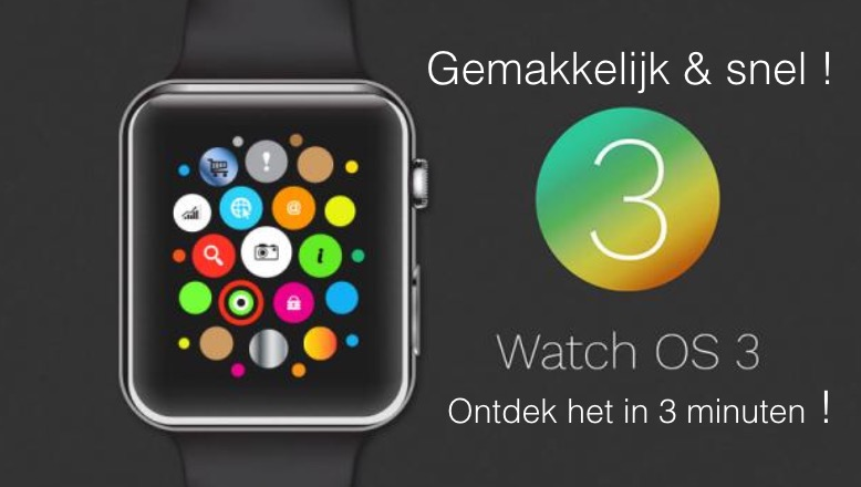 Ontdek watch OS 3 in 3 minuten