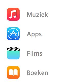 iTunes aankopen